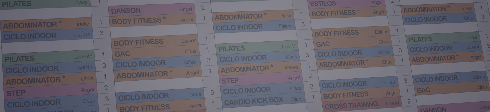 Horario Lowgym